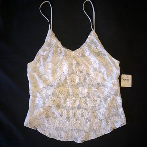 FINALSALE🔥Free People Lace Tank NWT